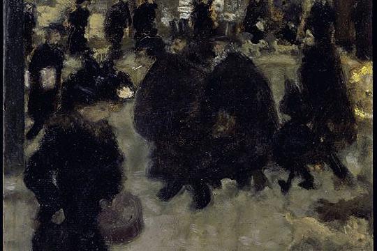 """""""Paris, mende amaiera: Signac, Redon, Toulouse-Lautrec eta garaikideak"""""""