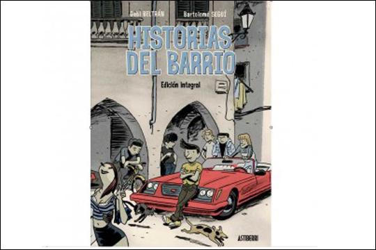 """Gabi Beltrán eta Bartolomé Seguí-ren """"Historias del barrio"""" komikiari buruzko solasaldia"""