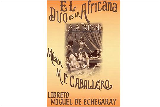 """El dúo de La Africana"""