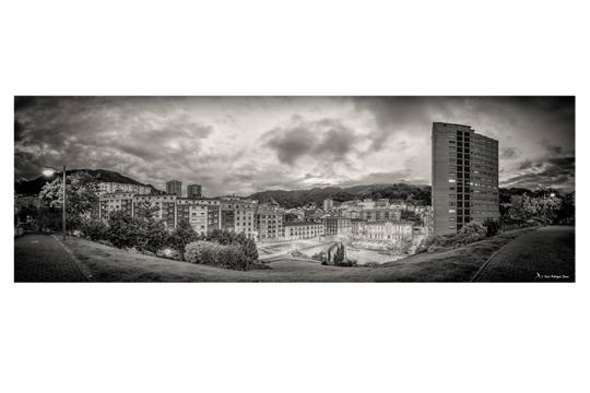 """""""Panorámicas: Eibar-Euskadi"""", Einer Rodriguez Ponceren argazki-erakusketa"""