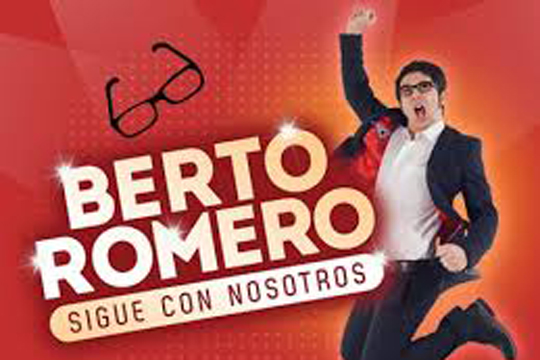 """Berto Romero: """"Sigue con nosotros"""""""