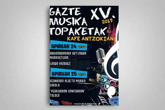 Gazte Musika Topaketak 2017