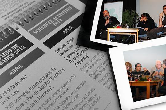 Gernikako Kultura eta Bakearen Nazioarteko Jardunaldiak 2017