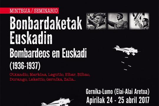 """Mintegia: """"Bonbardaketak Euskadin (1936-1937)"""""""