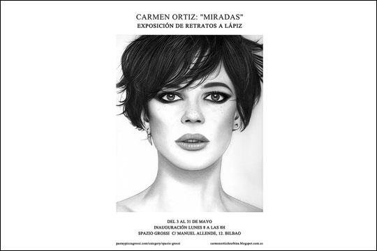 """""""Miradas"""", Carmen Ortiz-en erakusketa"""