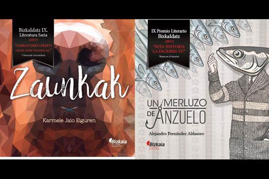 BizkaIdatz Literatura Saria 2017