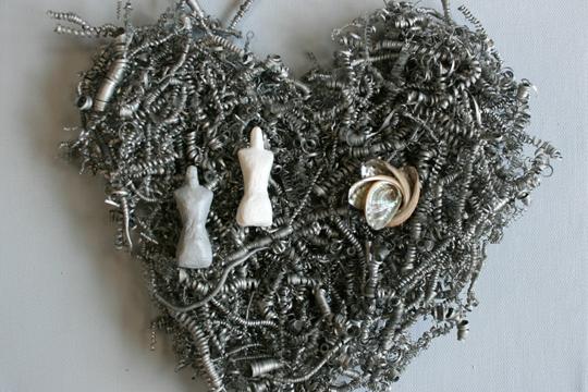 """""""Heart collection"""", Monika Mielentzen erakusketa"""