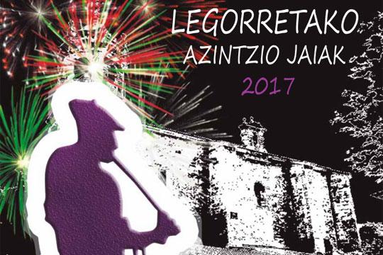 Legorretako Azintzio Jaiak 2017