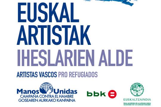 """""""Euskal artisten iheslarien alde"""""""