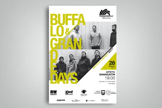 Katapulta Tour Gipuzkoa 2017: Buffalo + Grande Days