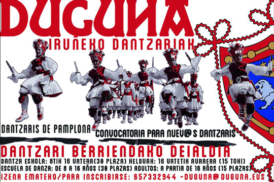 """""""Duguna, 1951-1953. Iruñeko dantzarien genesia"""""""