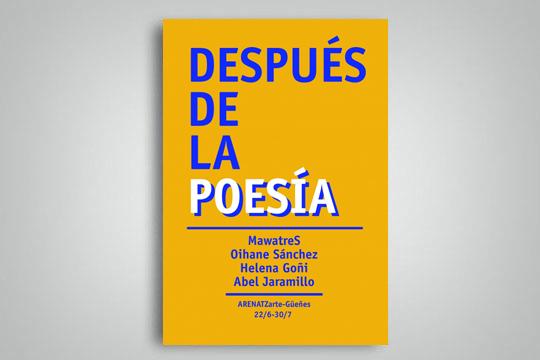 """""""Poesiaren ondoren"""""""