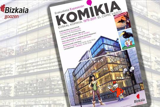 """""""Euskal komikia, 1975-2017"""" erakusketa"""