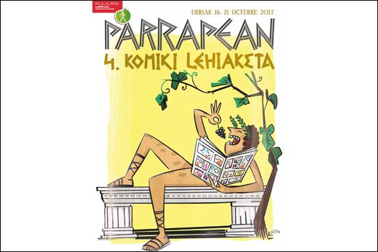 """""""Parrapean"""" Komiki Lehiaketa 2017"""