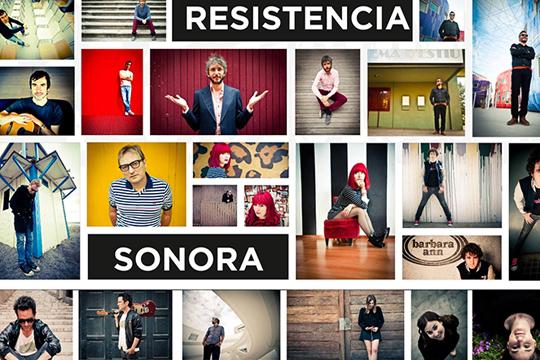 """""""La Resistencia Sonora"""", Mary Wilson-en erakusketa"""