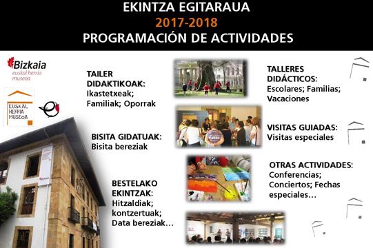 Euskal Herria Museoa: Ekintza Egitaraua 2017-2018