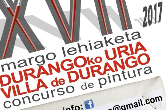 """""""Durangoko Uria"""" XVII. Margo Lehiaketa"""