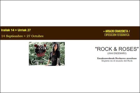 """""""Rock & Roses"""", Unai Endemañoren argazki-erakusketa"""