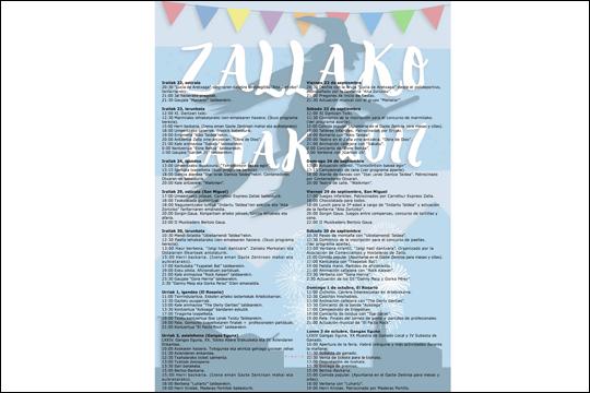 Zallako jaiak 2017