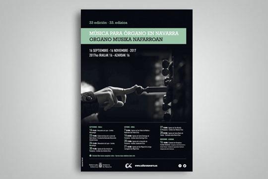 Organo Musika Zikloa Nafarroan 2017