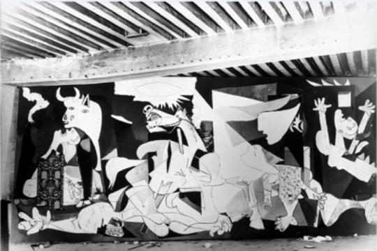 """""""Picasso. 'Guernica'ren bidaia"""""""