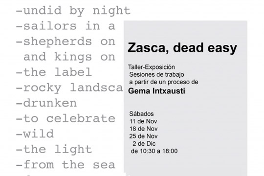 """Zasca - dead easy"" tailerra Gema Intxaustirekin"