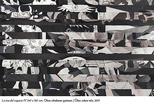 """""""Espazioaren barrea ('Guernica'). José Ramón Amondarain"""""""