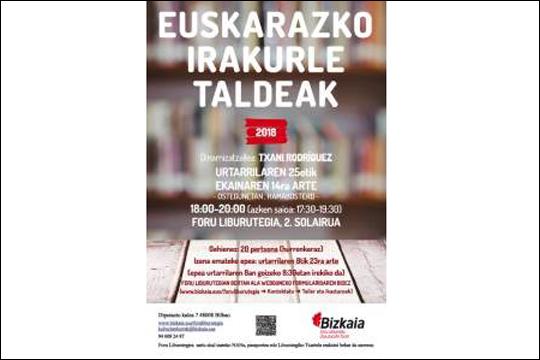Euskarazko Irakurle Taldeak 2018 (urtarrila-ekaina)