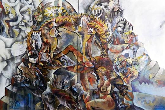 """Guernica, la bestia indomable"", Felipe Alarconen erakusketa"