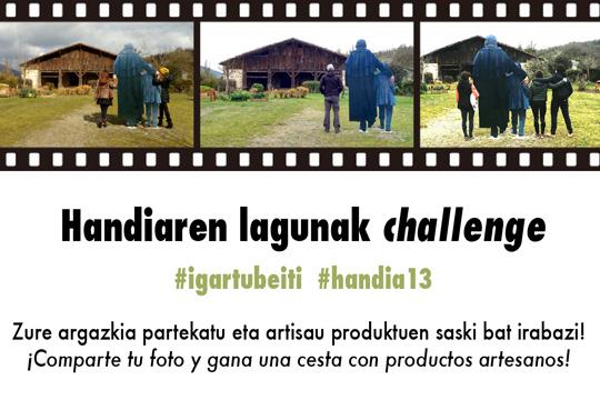 #Handiaren Lagunak Challenge