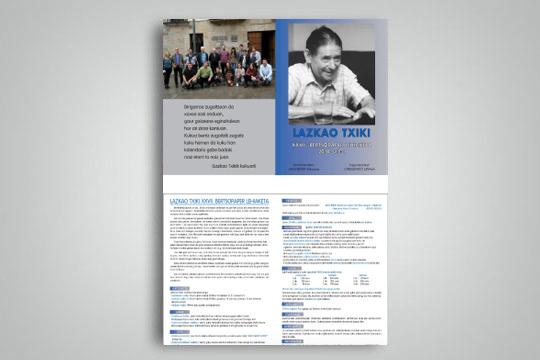 Lazkao Txiki Bertsopaper Lehiaketa 2018