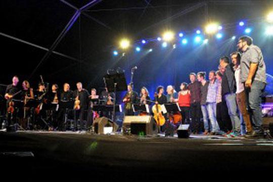 Et Incarnatus orkestra & Euskal pop-rock izarrak
