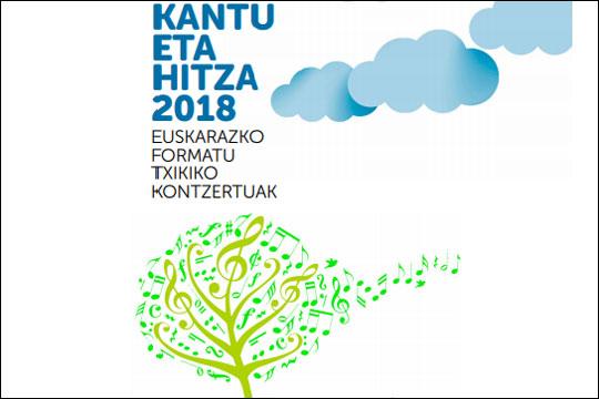 Kantu eta Hitza 2018