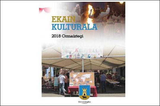Ormaiztegiko Ekain Kulturala 2018