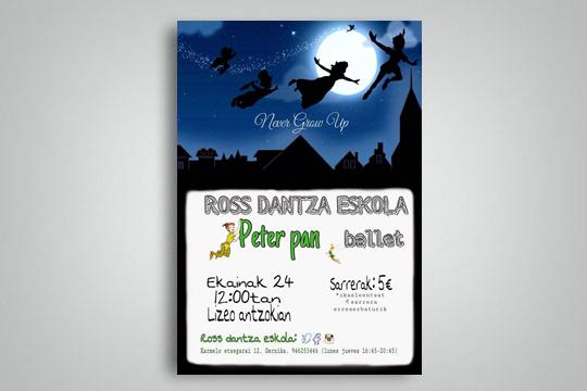 "Ross Dantza Eskola: ""Peter Pan"""