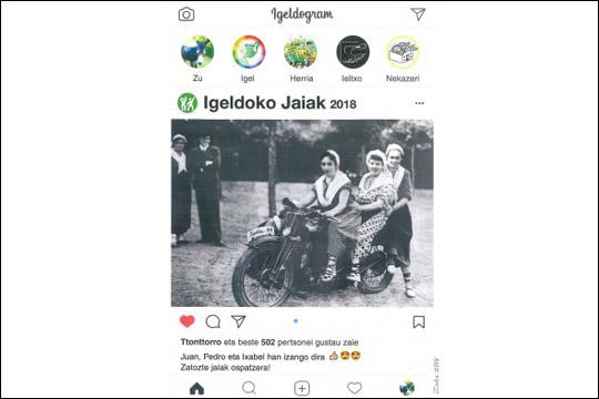 Igeldoko Jaiak 2018