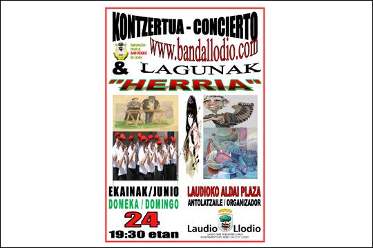 """Laudioko Musika Banda & Lagunak: """"Herria"""""""