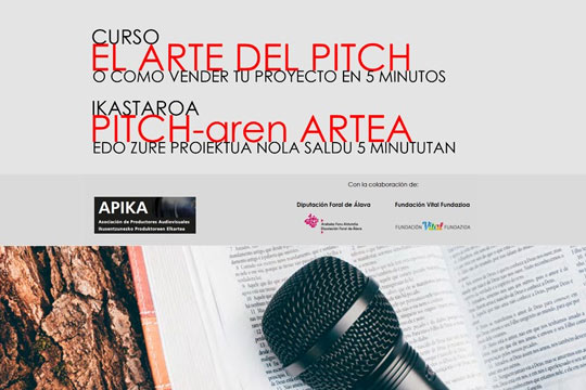 Curso el arte del Pitch