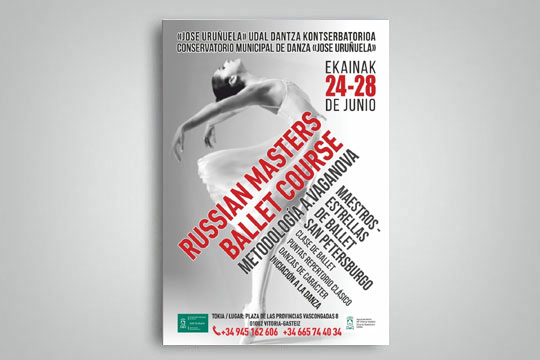 Russian masters ballet course