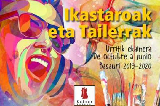 Kultur Basauri Ikastaro eta tailerrak 2018-2019