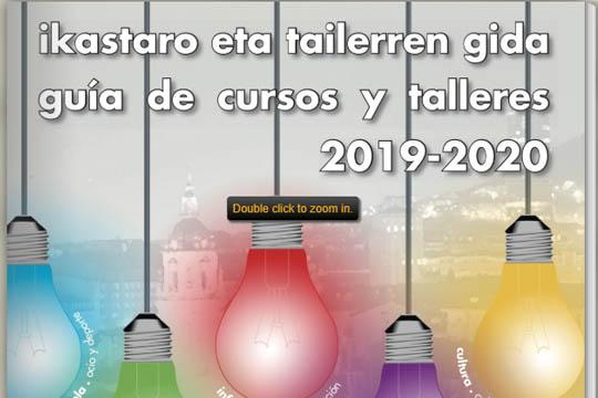 Bilboko Udaleko Ikastaro eta tailerrak 2019-2020