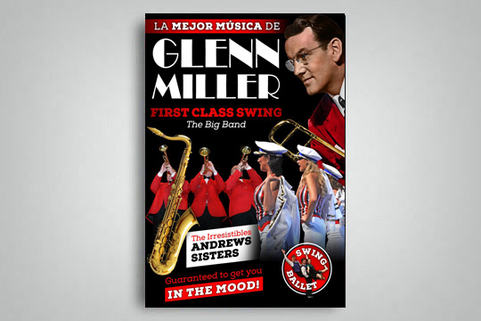 "First Class Swing - The Big Band: ""La mejor música de Glenn Miller"""