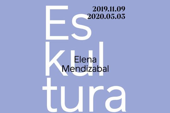 Elena Mendizabalen eskultura erakusketa