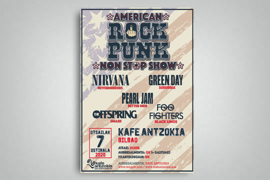 American Rock Punk Reloaded Jaialdia
