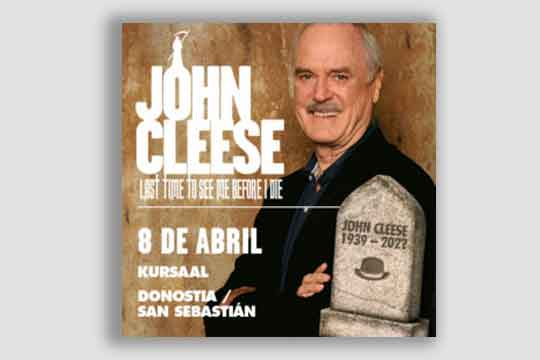 "John Cleese: ""Last time to see me before I die"""