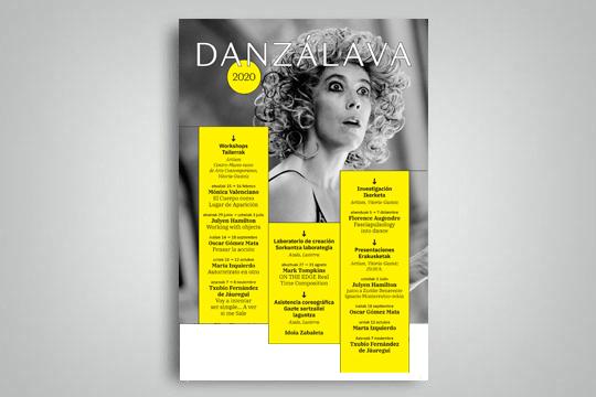 Danzálava 2020: tailerrak + erakustaldiak + sorkuntza laborategia + deialdia
