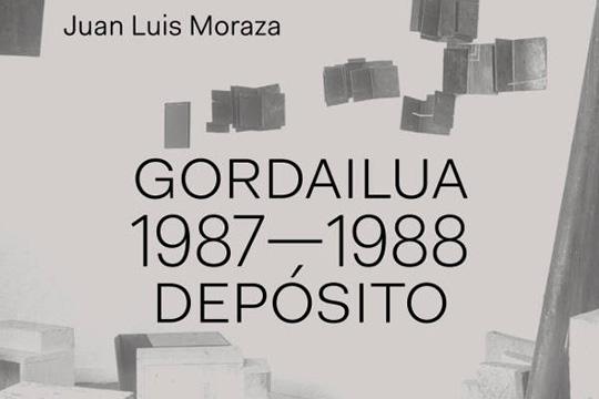 """""""Gordaliua 1987-1988 Depósito"""", Juan Luis Morazaren erakusketa"""