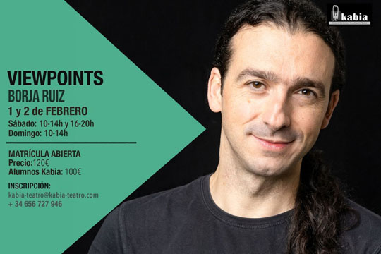 "Intensivo ""viewpoints"" con Borja Ruiz"