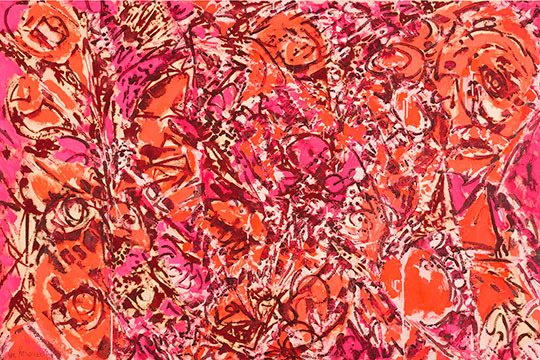 """Lee Krasner. Color vivo"""