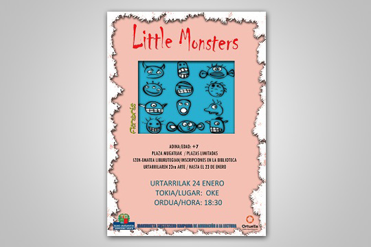 "Cuentacuentos: ""Little monsters"""